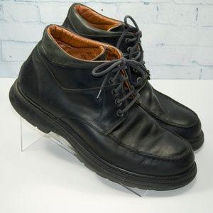Johnston & Murphy Men's Black 10.5 Chukka Boots